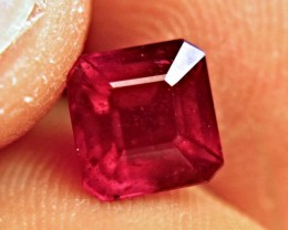 2.43 Carat Fiery Ruby