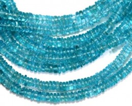 89.40 CTS NATURAL STRANDS APATITE POLISHED BEADS TBG-2220