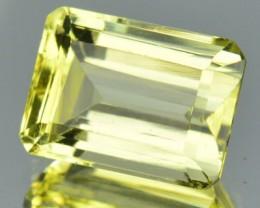 3.72 Cts Natural Mint Yellow Scapolite Octagon Cut SriLanka Gem NR