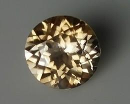 1.89CT DAZZLING SILVER GOLD SPARKLING ZIRCON