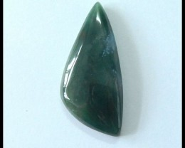 34ct Natural Moss Agate Gemstone Cabochon