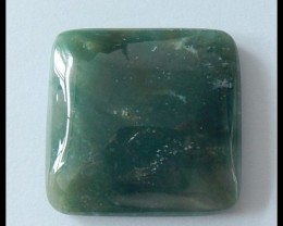 111.5ct Natural Moss Agate Gemstone Cabochon