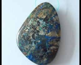 105Ct Natural Chrysocolla Pendant Bead