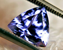 2.43 Carat Vivid Purplish Blue VVS African Tanzanite - Superb