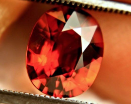 2.82 Carat VVS Orange Spessartite Garnet - Gorgeous