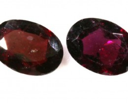 1.80 CTS GARNET FACETED PARCEL (2PCS) TBG-2269