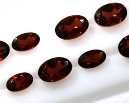 3.50 CTS GARNET FACETED PARCEL (8PCS) TBG-2294