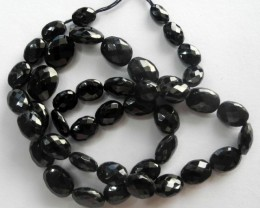 AAA+ SUPERB MICRO-FACETED SPINEL OVAL BEAD STRAND
