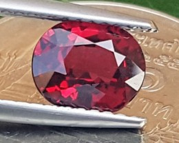 1.40cts, Burma Red Spinel, VVS1 Eye Clean,  Untreated,