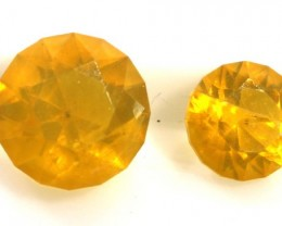 1.30 CTS CITIRINE FACETED  NATURAL PARCEL (2PCS) RNG-228