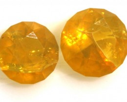 1.25 CTS CITIRINE FACETED PARCEL (2PCS) NATURAL RNG-229