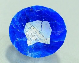 Rare 3.310 ct Natural Electric Blue Hauyne L.9 Collector's Gem