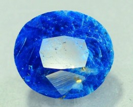 Rare 3.070 ct Natural Electric Blue Hauyne L.9 Collector's Gem