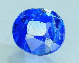 Rare 0.355 ct Natural Electric Blue Hauyne L.9 Collector's Gem