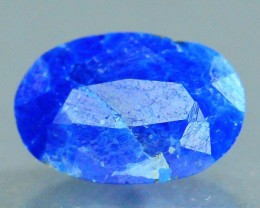 Rare 1.065 ct Natural Electric Blue Hauyne L.9 Collector's Gem