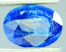 Rare 1.205 ct Natural Electric Blue Hauyne L.9 Collector's Gem