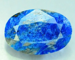 Rare 3.885 ct Natural Electric Blue Hauyne L.9 Collector's Gem