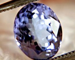 1.96 Carat VVS Kashmir Blue African Tanzanite - Sparkling