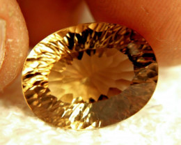 18.85 Carat VVS1 Brazil Golden Brown Topaz - Gorgeous