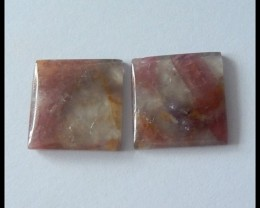 15ct Natural Tourmaline Gemstone Pair