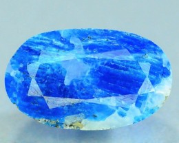 Rare 1.985 ct Natural Electric Blue Hauyne L.9 Collector's Gem