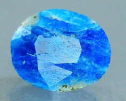 Rare 0.820 ct Natural Electric Blue Hauyne L.9 Collector's Gem