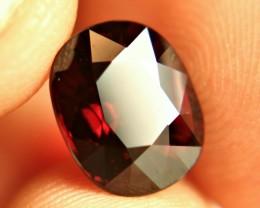 6.38 Carat VVS Fiery Red Rhodolite Garnet - Superb
