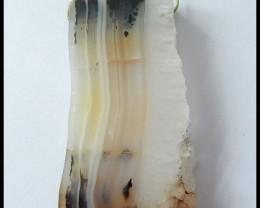 188.85Ct  Druzy Montana Agate  Natural Gemstone Pendant Bead(N010)