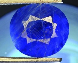 1.465 ct Natural Electric Blue Hauyne L.7 Collector's Gem
