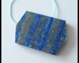 57.5 ct Natural Lapis Lazuli Pendant Bead