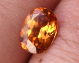 1.40 Carat Oval Cut Nice Hessonite Garnet