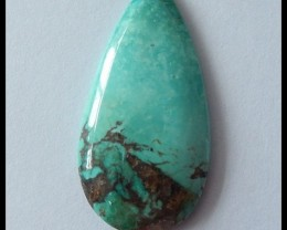 13Ct Natural Turquoise Gemstone Cabochon