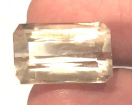 Large 18.95ct Lovely Straw Yellow  Tourmaline,-  Brazil MA1620 NR16