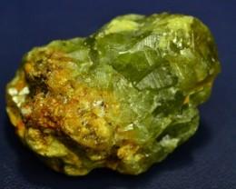 Rare 9.085 grams Demantoid Garnet Cluster Specimen