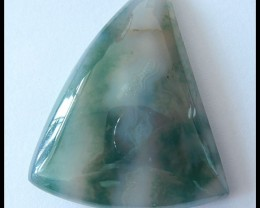 71.5ct Natural Moss Agate Cabochon