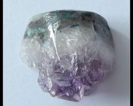 55.35ct Natural Druzy Amethyst Gemstone