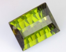 0.98 CT GREEN TOURMALINE - OLD STOCK MATERIAL - VVS - UNTREATED!