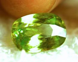 5.49 Carat Natural Green Russian Sphene - Superb