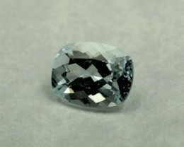 AQUAMARINE GEM STONE CUSHION CUT