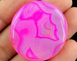Genuine 69.85 Cts Pink Onyx Gem