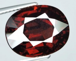 13.60 Cts ~ Natural Fantastic Oval Nice Deep Red Earth Mined Red Garnet