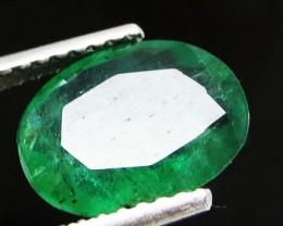 1.30ct Ravishing Zambian Emerald oval Shape