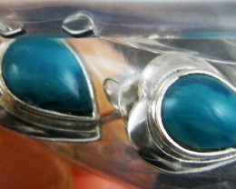 TRADE DEAL 3 CHRYSOCOLLA  SILVER EARRINGS  MYT309