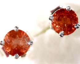 SUNSTONE EARRINGS   6.30 CTS  TBJ-