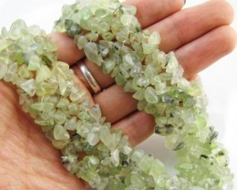 815 Cts prehnite Necklace MJA 1051