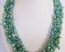 700 Cts amazonite necklace  MJA 1055  ml