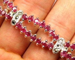 Bracelet  with Rubies  87.00  CTS 90683