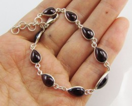 28 Cts Beautiful natural Garnet NBracelet   MJA 1179