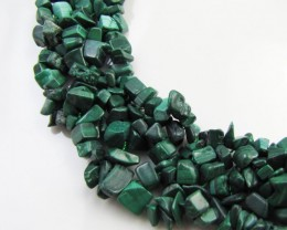 770 Cts Beautiful Malachite Necklace    MJA 1063