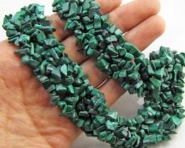 770 Cts Beautiful Malachite Necklace    MJA 1064